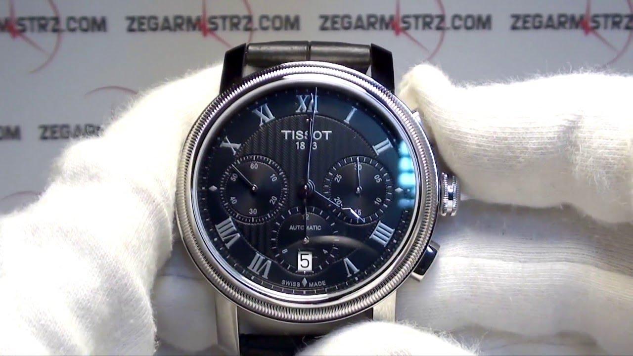 c3ee0e2b5 Tissot Bridgeport Gent Automatic Chrono Valjoux T097.427.16.053.00  www.zegarmistrz.com