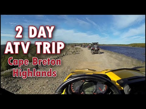 Fantastic 2 Day ATV Trip - Highlands Nova Scotia