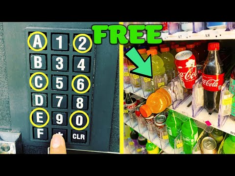 testing-vending-machine-secret-codes-(do-they-really-work?)