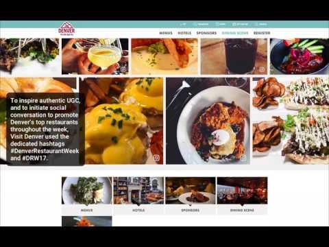 Visit Denver Curates Authentic UGC In Promotion Of Denver Restaurant Week