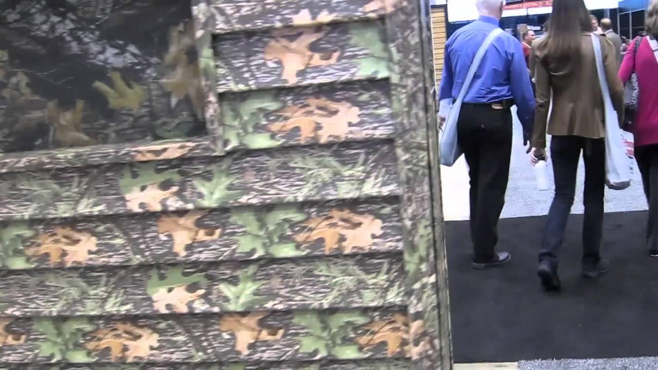 Camouflage Vinyl Siding Youtube