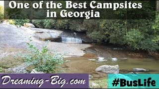 One of the best campsites in Georgia!