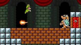 Super Mario Advance 4 Frog Suit Only Part 21 - World 8 Bowser's Castle