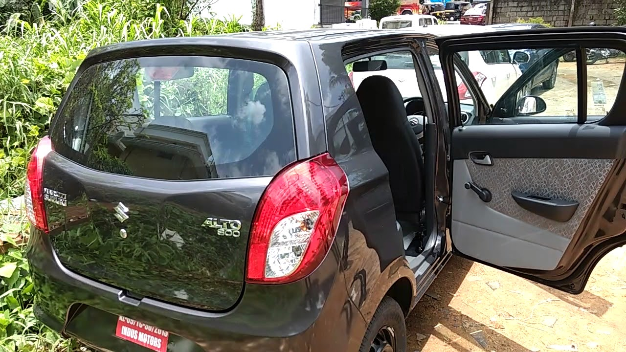 maruti suzuki alto 800 lxi granite grey colour quick overlook