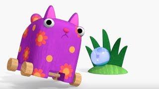 Деревяшки - Росинка - развивающие мультфильмы для самых маленьких 0-4 HD
