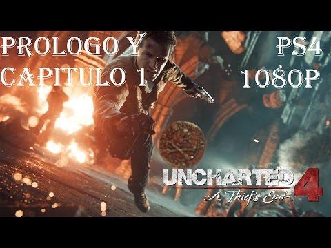UNCHARTED 4 PS4 ESPAÑOL| PARTE 1|COMIENZO INCREIBLE