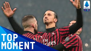 Zlatan Ibrahimovic Back in Top Form in the Milan Derby | Inter 4-2 Milan | Top Moment | Serie A TIM