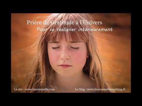 Prière de gratitude