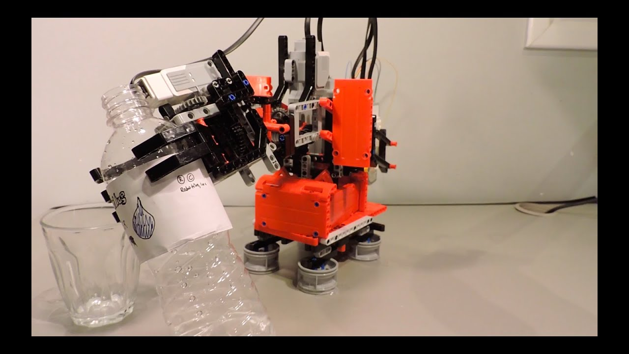 3 Axis Robot Arm - Lego Mindstorms Creations - YouTube
