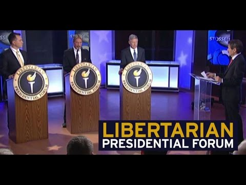 The First Nationally Televised Libertarian Presidential Debate (PT 1)