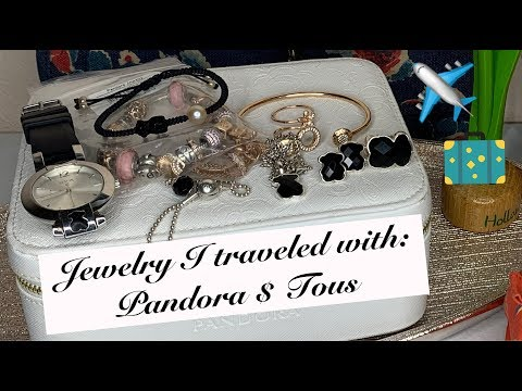 Jewelry I Took To San Francisco ✈️🚠 | Featuring: TOUS & PANDORA