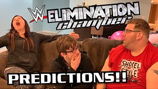 Hilarious WWE Elimination Chamber Predictions Will Change Our Marriage Forever
