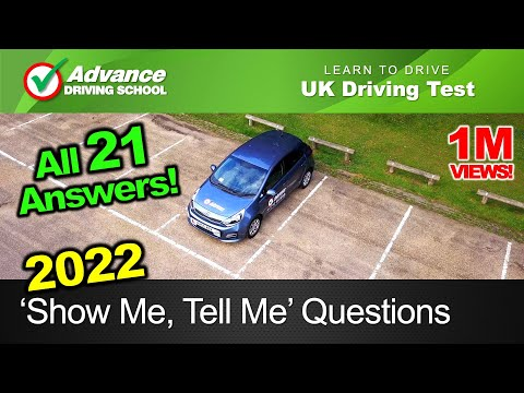 NEW Show Me, Tell Me Questions 2018  |  New UK Driving Test