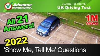 2019 'Show Me, Tell Me' Questions  |  UK Driving Test