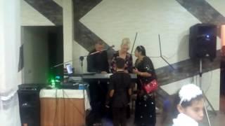 Цыганская Свадьба Димы и Ванды г. Слуцк 27.11.2016 Поёт Рада