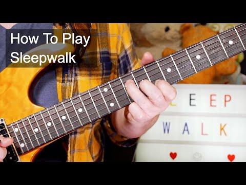 'Sleepwalk' Santo & Johnny Guitar Lesson