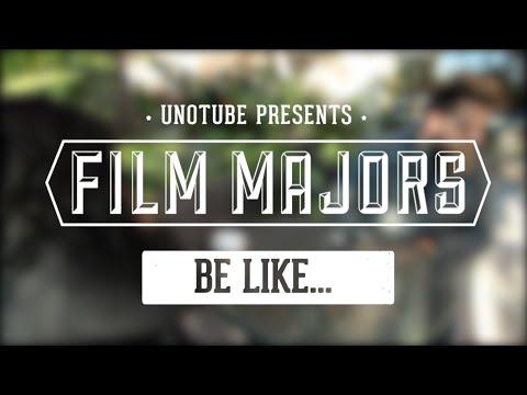 Film Majors Be Like...