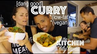 [Vegan] Curry in a Hurry (low-fat) + What I Eat in a Day