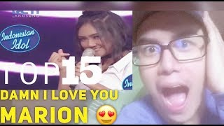 Download Video MARION JOLA | AGNEZ MO DAMN I LOVE YOU | INDONESIAN IDOL 2018 TOP 15 | Live Reaksi | NoLo Vlog MP3 3GP MP4