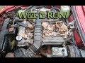 FINALLY RUNNING!!! Alfa Spider Fied Rescue