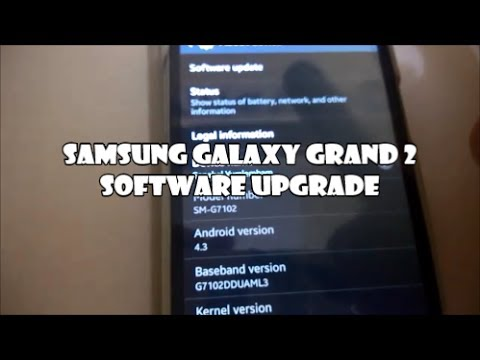 Samsung Galaxy Grand 2 - Software Upgrade