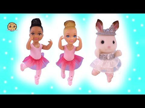 New Ballerina Student In Ballet Class + Show - Barbie Kids Toy Video