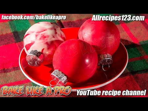 Chocolate balls: making decorations on the Christmas tree