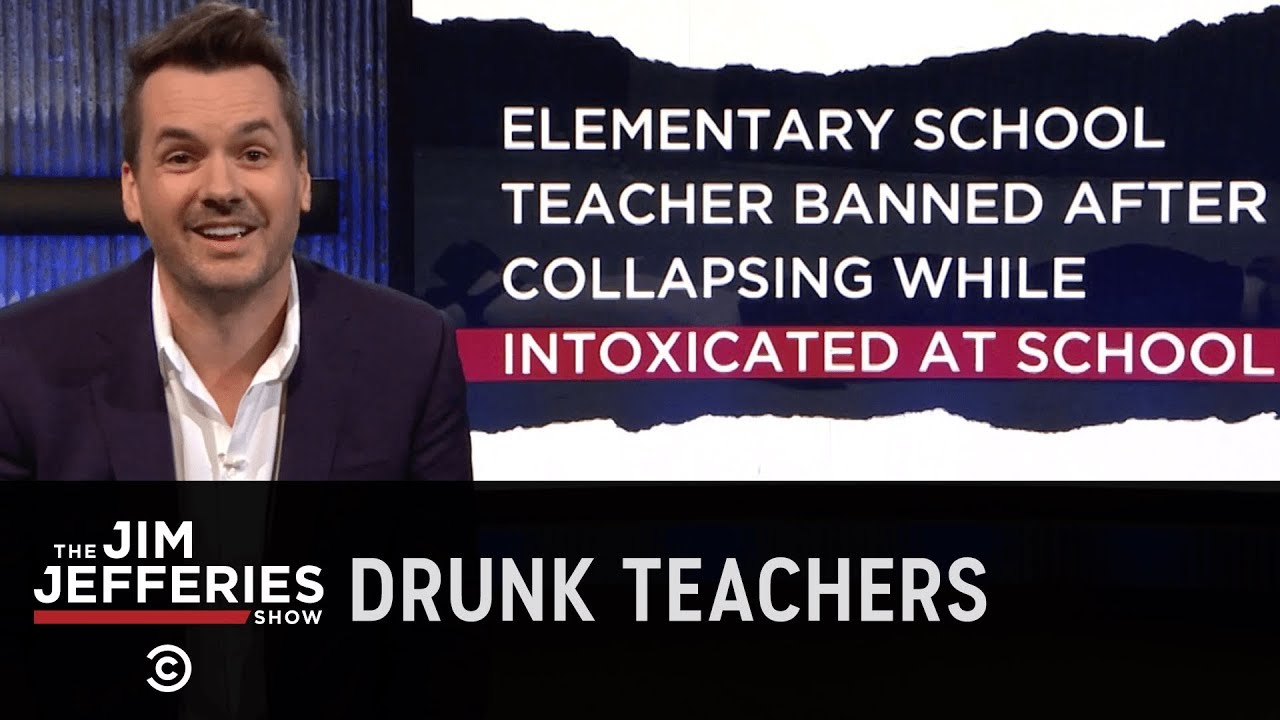 Teaching Is the Easiest Job for Drunks