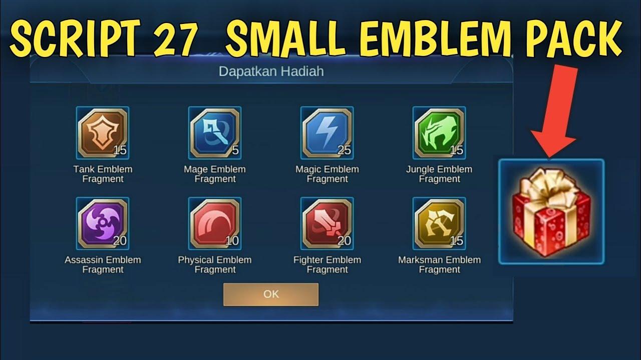 Hasil gambar untuk Emblem Pack