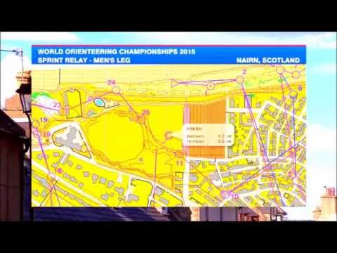 WOC 2015, Sprint Relay, Scottland, Swedish language