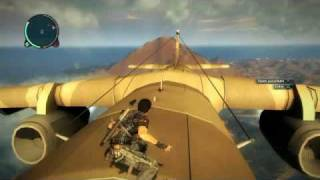 Just Cause 2 Cargo Plane Hijack