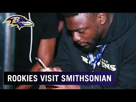 Rookies Visit Smithsonian's Museum Of African American History | Baltimore Ravens