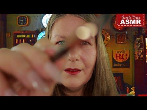 ASMR Makeup Artist Roleplay ♡ Ich schminke Dich für ein Fotoshooting ♡ Flüstern in  Deutsch/German thumbnail
