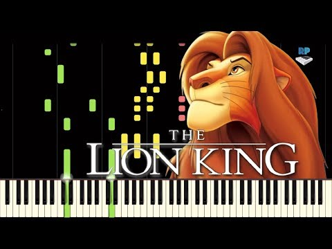 The Lion King - Be Prepared - Piano Tutorial
