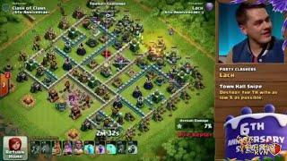 GnomesGames vs Lach | 6th Anniversary 5v5 Special Stream- Clash of Clans