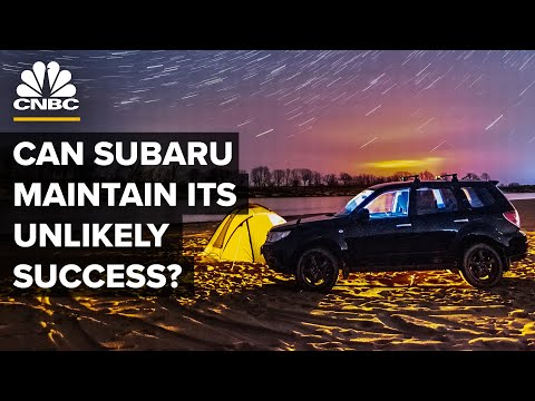 How Subaru Plans To Maintain Its Unlikely Success