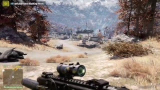 Farcry 4 capturing outpost and random