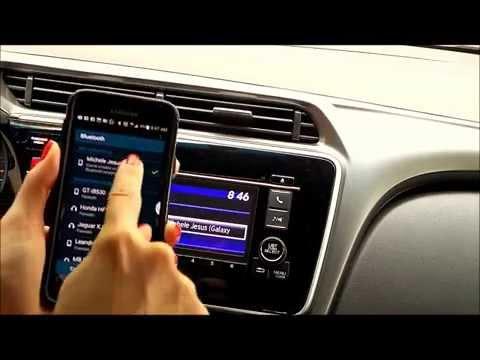 Como conectar o celular no Bluetooth do carro - Honda City 2015