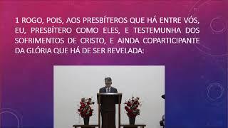 O ensino da natureza e da submissão de Cristo  (1 Coríntios 11.1-16)  Rev. Anatote Lopes  25-04-2021