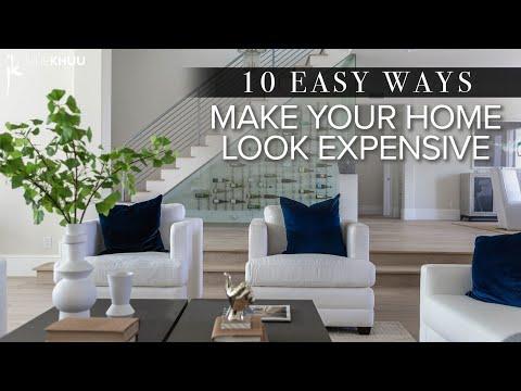 DESIGN HACKS | 10 Easy Ways to Make Your Home Look More Expensive | Julie Khuu