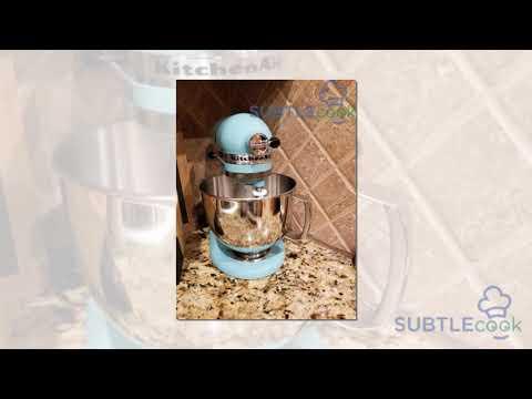 KitchenAid KSM150PSAC Artisan Series 5-Qt. Stand Mixer Review