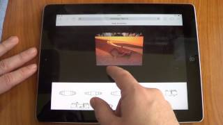 Simple 3D Coverflow iOS demo iPad / iPhone