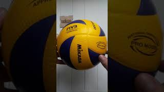 оригинальные волейбольный мяч Mikasa MVA300. Краткий обзор от Lekos