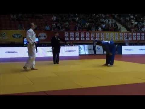 3 shido in 13 seconds - Baku Grand Slam 2013 Judo
