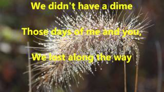 The Hungry Years With Lyrics By Engelbert Humperdinck