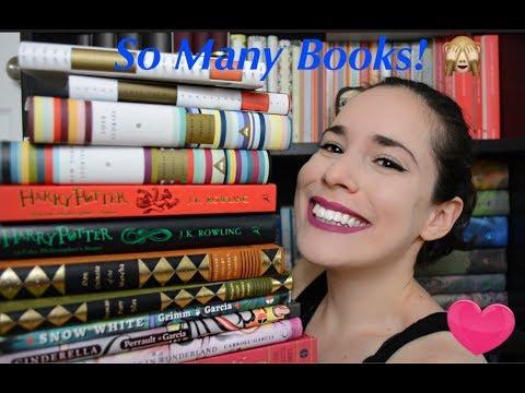 Beautiful Books Haul & New Harry Potter Unboxing !