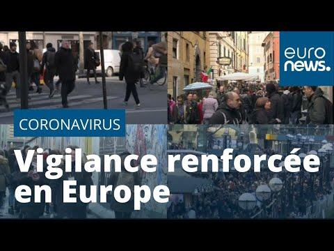 euronews (en français): Coronavirus : vigilance renforcée en Europe face au risque de propagation