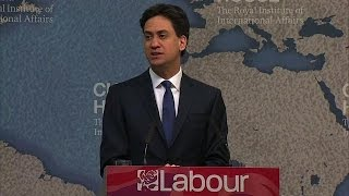 Labour leader Miliband vows to end UK