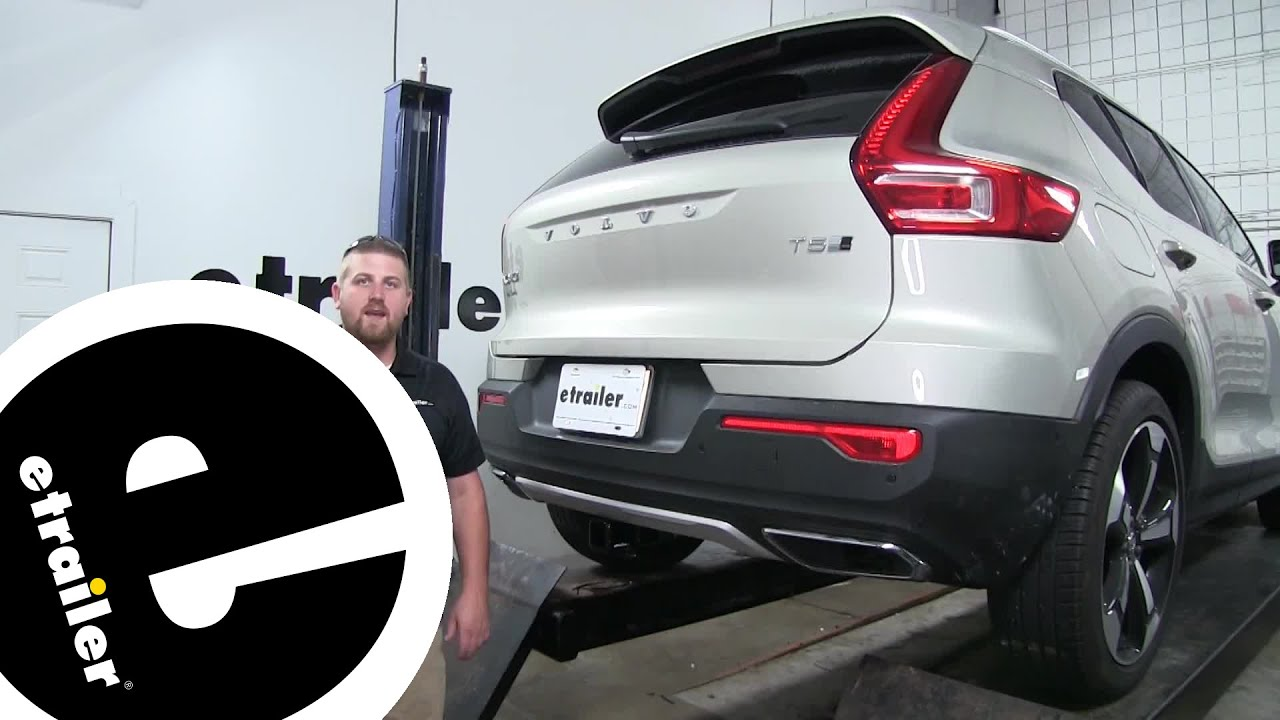 Draw-Tite Max-Frame Trailer Hitch Installation - 2019 Volvo XC40 -  etrailer com