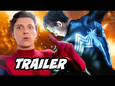 Spider-Man Far From Home Trailer and Venom Crossover News Breakdown